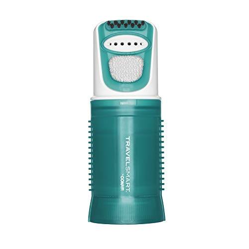 TRAVEL SMART Conair 450 Watt Dual Voltage Garment Steamer, One Size, Green