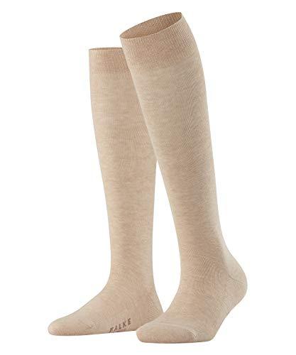 FALKE Damen Family Kniestrumpf - 1 Paar, Größe 35-42, versch. Farben, 94prozent Baumwolle - Hautfre&liche Baumwolle, strapazierfähig, perfekt für lässige Erscheinungsbilds