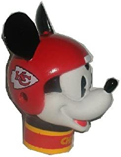 2 Kansas City Chiefs Mickey Mouse Antenna Toppers **