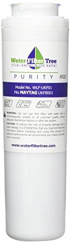 WLF-UKF01 - Vervangingsfilter voor Maytag UKF8001 Pur Koelkast Water Filter, UKF8001AXX, 67003523, 67003526, 67003527, 67003528, 12589203, 12589206, 12589208, 12589210, 13040216, UKF9001, Amana