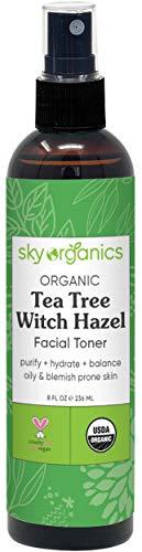 Organic Tea Tree Witch Hazel Toner (8 oz)...