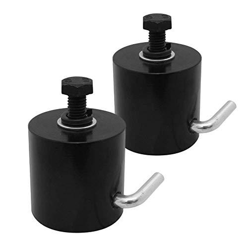 2x Equinox 38mm Stand Top Cap Top Hoed voor Verlichting Stand Speaker Stand M10 DJ Disco