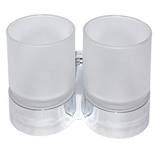 Doppel-Becherhalter - Zahnputzbecher, Halter, Doppelhalter