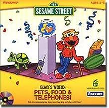 sesame street elmo's world cd rom