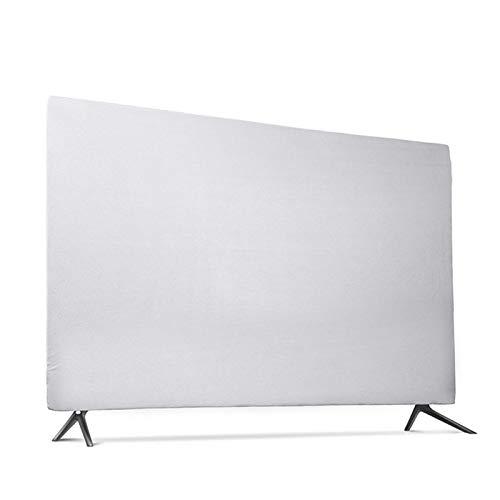 Protector Tv Exterior Funda,Funda Tv Resistente a los arañazos y salpicaduras elástico resistente cubierta de tela suave for 43 pulgadas 49 pulgadas 55 pulgadas de TV que cuelga la cubierta protectora