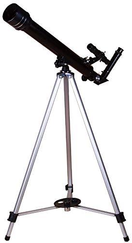 Telescopio Refractor Levenhuk Skyline Base 50T De Iniciación Observar Objetos Terrestres, La Luna Y Los Planetas Del Sistema Solar