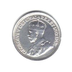 1929 Canada Newfoundland 5 Cents Coin KM#13 – 92.5% Silver