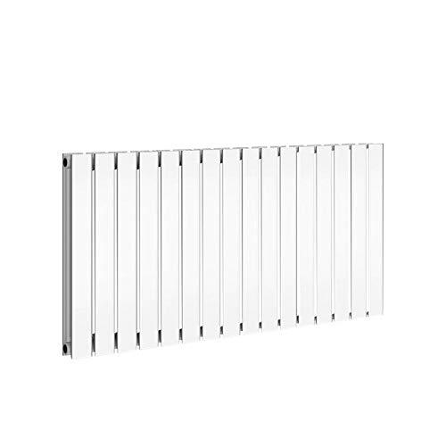 Scaldasalviette di design a 1 strato, a due strati, termosifoni piatti per il bagno, modello a 1 strato, dimensioni: 600 x 604 x 58 mm