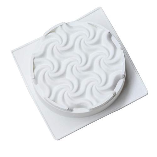 Luminiu Molde de Silicona Forma de Flor, para Tarta de Helado, de Silicona, Creativa de Kremeis Francesa