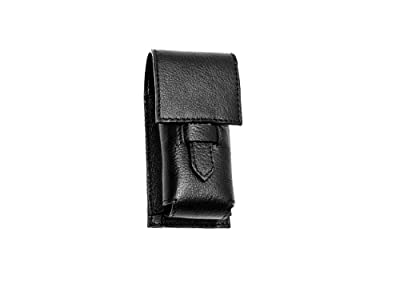 Parker Leather Shaving Brush / Razor Case from Parker