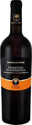 Cantine Due Palme Primitivo di Manduria Sangaetano DOP 0.75 l