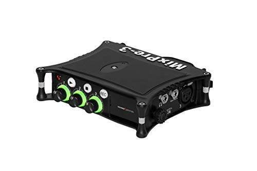 Sound Devices MixPre-3 II Portable 32-Bit Float Multichannel Audio Recorder/Mixer, and USB Audio Interface