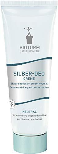 Bioturm Bio Silber-Deo Creme neutral (2 x 50 ml)
