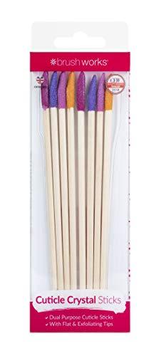 Brushworks Cristal Bâtonnets Cuticule 1 Unité