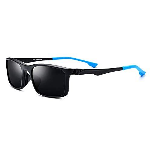 Zhhhk Gafas Deportivas TR90 for Montar En Bicicleta Al Aire Libre Gafas De Sol Polarizadas Gafas De Color Unisex, Lentes De Color Gris, Protección UV400 (Color : Blue)
