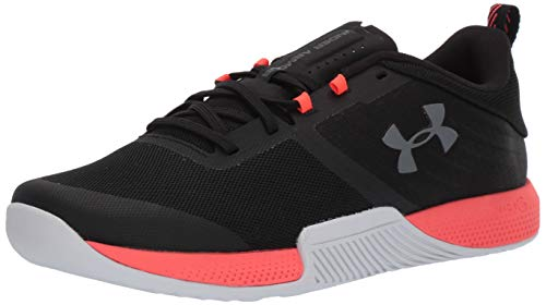 Under Armour Men's TriBase Thrive Cross Trainer, Black (005)/Beta Red, 8.5