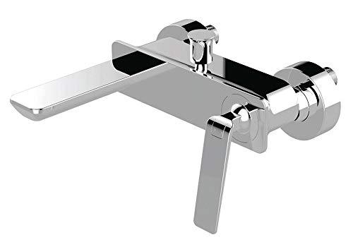 Sanlingo - Rubinetto miscelatore monocomando Sanlingo per vasca da bagno, stile: moderno, modello: Bila, colore: Cromo