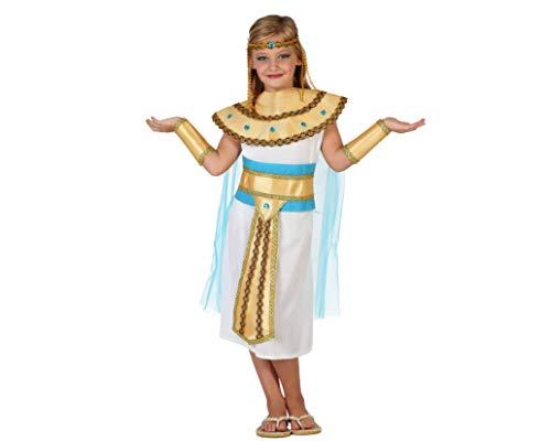 Atosa-23308 Disfraz Egipcia, color dorado, 3 a 4 años (23308)