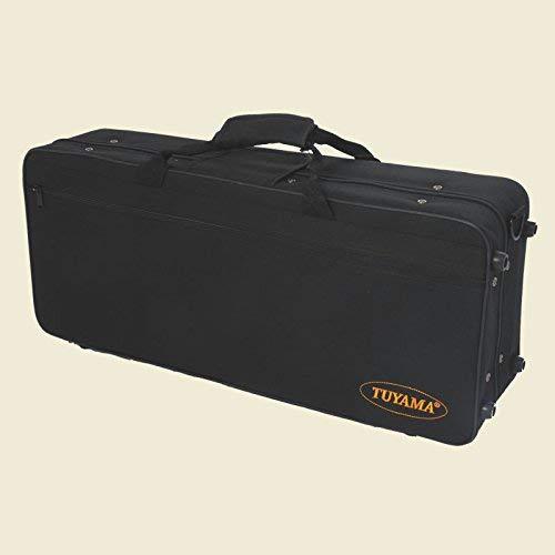 Koffer für Altsaxophon - mit Rucksackfunktion - Koffer Gigbag extra stoßfest - innen weich gepolsterter Saxophonkoffer