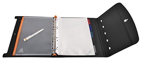 エグザコンタリングファイルエグザショーA4ブラック56034E