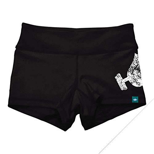 Wodbottom Women's Spandex Booty Shorts - WOD Athletic Shorts 3.25'...