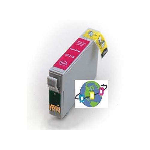 T0713 - Cartucho de Tinta Compatible con Epson - Magenta