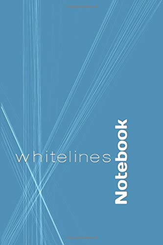 Whitelines notebook: Lined Notebook / Journal Gift, 100 Pages, 6x9, Soft Cover, Matte Finish