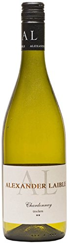 Alexander Laible - Chardonnay ** (zwei Sterne) - trocken - aktueller Jahrgang - 13% Vol. 6 x 0,75L