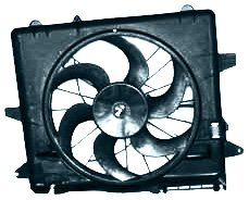 TYC 621070 Ford Mustang Replacement Radiator/Condenser Cooling Fan Assembl