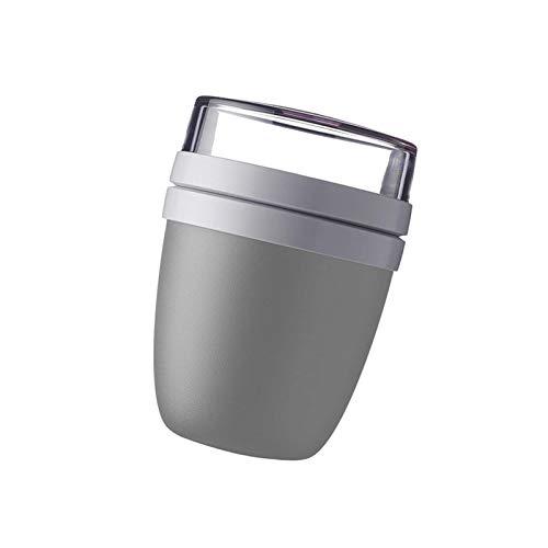 Povanjer 700 Ml Praktischer Müslibecher(500 Ml Praktischer Müslibecher +200ml Tasse Deckel Schüssel), Joghurtbecher, to Go Becher – Geeignet Für Tiefkühler, Mikrowelle Und Spülmaschine