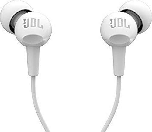 (Renewed) JBL C100SI Wired Headphone (White)