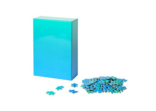 Areaware Gradiente Puzzle (Azul/Verde), Color, Original (BWPGBG)