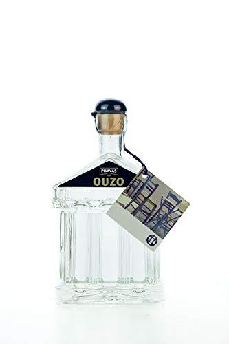 Ouzo Pilavas Nektar 40% 200ml Flasche Geschenk Flasche AKROPOLIS Traditions Anis Likör Schnaps aus Griechenland