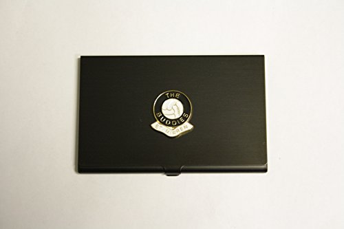 Awesome Gifts Football club black business card holder St Mirren