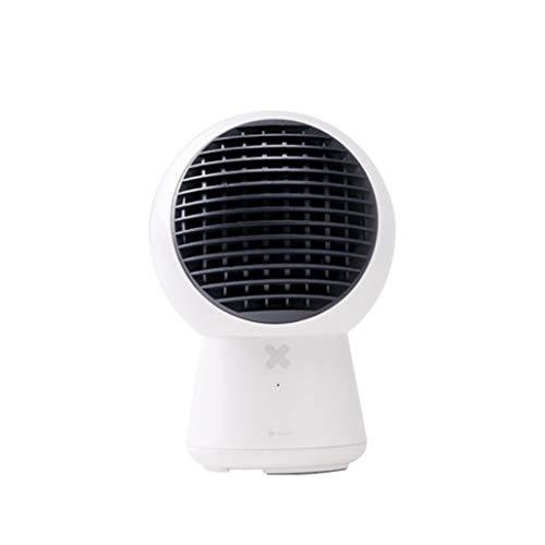 Chauffage et refroidissement Ventilateur à circulation d'air à double usage Chauffage électrique Chauffage domestique Mini Small Sun (Color : White)