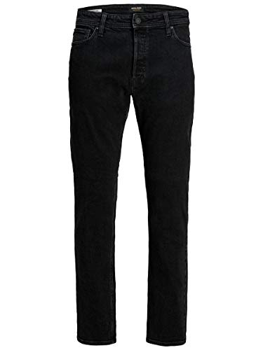 JACK & JONES Herren JJIMIKE JJORIGINAL AM 240 PCW PS Jeans, Black Denim, 42/36