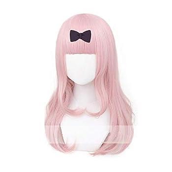 Xingwang Queen Anime Cosplay Wig Light Pink Long 55cm Women Girls  Party Wigs