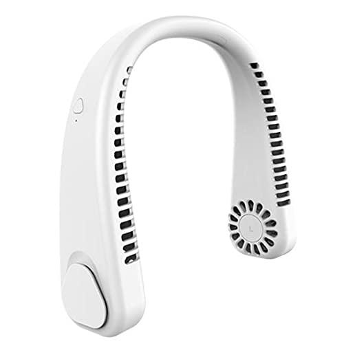 Varadyle Ventilador de Cuello Portátil: Ventilador de Cuello Sin Aspas Manos Libres, Ventilador Colgante de Refrigeración, Aire Acondicionado de Cuello con Diseeo de Auriculares