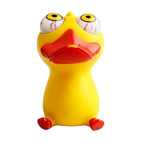 Enfudid Stress Duck Ball Sensory Toy Anti-Anxiety Toy Creative Duck Decompression Toy for Kids Adults Eye Popping Squeeze Duck Toy Fidget Squishy Toys