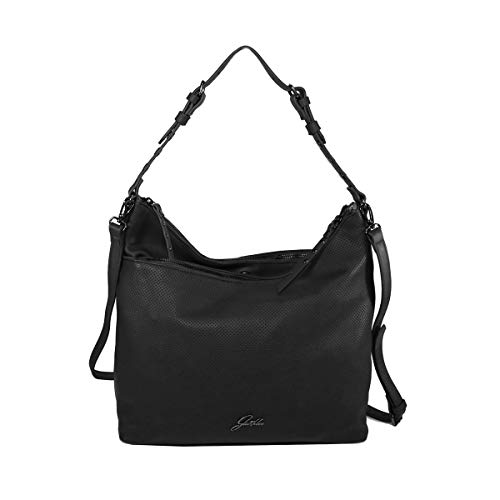 Glüxklee Damen Handtasche Rita (Schwarz)