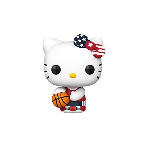 Funko Pop Hello Kitty x Team USA: Hello Kitty (Basketball) Vinyl Figure #48691
