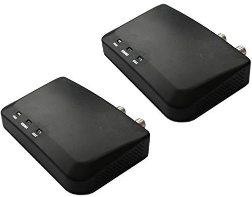 Kiwee Broadband MoCA 2.5 Ethernet to Coax Adapter, Gigabit Ethernet Port, 2 Pack (KB-M3-01L)