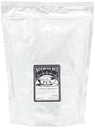 Nothing but Tea Green Rooibos Cranberry Mandarin Herbal Infusion, 1000 g
