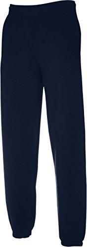 Sweatware * Jog Pants elastisch * Fruit of the Loom marine,M
