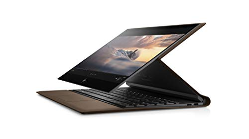HP Spectre Folio 13-ak0020ng (13,3 Zoll / Full HD Touch) Convertible Laptop (Intel Core i7-8500Y, 16GB DDR3 RAM, 1TB SSD, Intel UHD Grafik 615, Windows 10) braunes Leder, inkl. HP Tilt Pen