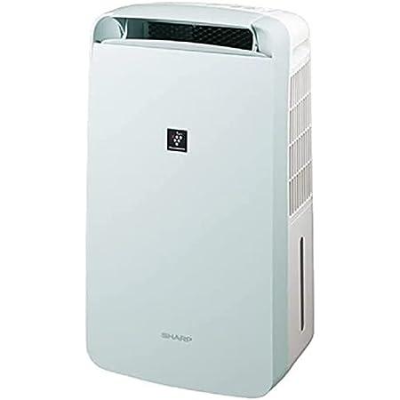 シャープ 冷風扇 除湿機 衣類乾燥 10L / プラズマクラスター 7000 スタンダード 11畳 / 2020年モデル ホワイト CM-L100-W