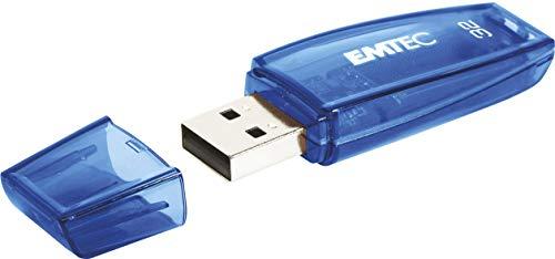 Emtec USB-Stick 32 GB C410 USB 2.0 Color Mix blau ECMMD32GC410