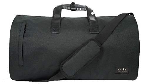 Avok - Bolsa para ropa de viaje, sistema antiarrugas, compartimento para zapatos con filtro antiolor, USB, libros electrónicos, etiquetas de viaje