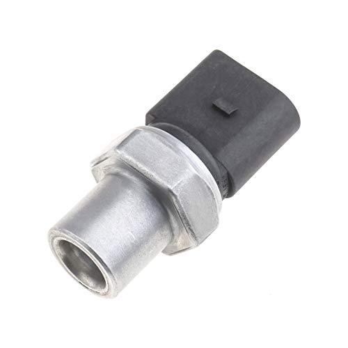 Interruptor de presión para aire acondicionado 4H0959126B 4F0959126A conector de 3 pines compatible con VII Touareg A3 A4 A5 4F0959126B 4F0959126C 8K0959126A
