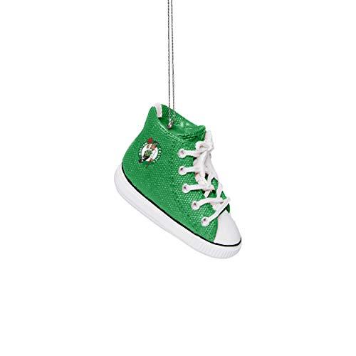 FOCO Boston Celtics NBA Sneaker Ornament, Team Color, one Size (RONBSNK)